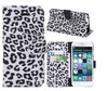leopard print cell phone case,wallet case cell phone case, pu phone case