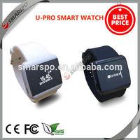 2014 hot sell wholesale fashionable pedometer anti lost wrist GSM bluetooth china windows mobile watch phone
