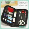 Emergency Sewing Kit Thread Needle Measuring Tape Scissor Thimble Fix Repair Se