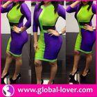 Wholesale gambar long dress modern