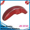 Fashion plastic motorcycle fenders/ plastic motorcycle rear fender JR CF 25