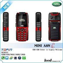 New version Land Rover A8N mini rugged waterproof mobile phone shockproof outdoor cell phone