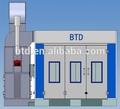 Btd pintura automotiva spray booth/pintura de carro simulador/btd cabine de pulverizador