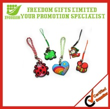 Most Popular Customized Cheap Printed Rubber Key Chains