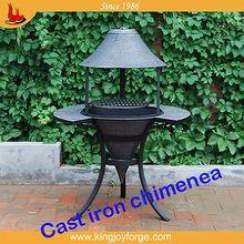 ion custom garden clay chimineas