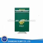 Olimy FRP post mailbox fiberglass post mailbox