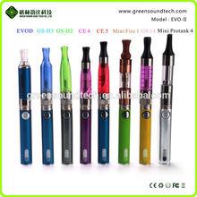 The lowest price e-cigarette battery GS EVO II VS eVo I week battery 500PCS free shipping