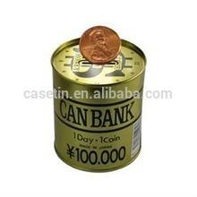ดีบุกเงินฝากออมทรัพย์ธนาคาร, ธนาคารลูกหมูสูง, โลหะเงินกล่องธนาคาร