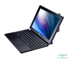 Creative design ultra thin foldab tablet pc case with keyboard and touchpad
