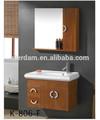 K-806-f banyo dolabı seti banyo vanity dolaplar/bambu banyo mobilyaları