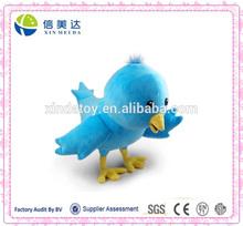 Love birds stuffed plush bird toys