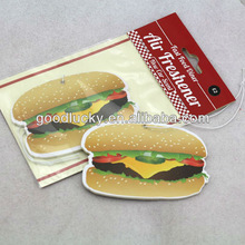 Eco-friendly feature and various shape promotional gifts air freshener for car