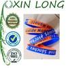High quality wrist band US stylish Silicone bracelet with debossed logo