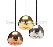 silver glass bowl pendant lights,tom dixon fixture llighting