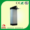 HOT! 36 v10ah rear rack type e-bike battery made in china