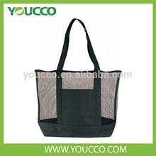 Tote Bag Style Mesh Shopping Bag PP Material Mesh Bag