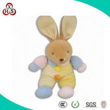 Chinese Factory Direct Sale Top quality OEM custom plush toy rabbit with clothes wholesale