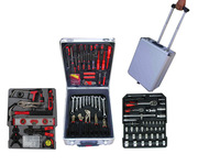LB-386-186PC Top grade multifunction aluminum tool box(kraft mate hand tool kits)