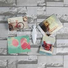 mariposa de metal libélula o imagen de la foto todo visualizador de bricolaje de la pared de bambú decoración
