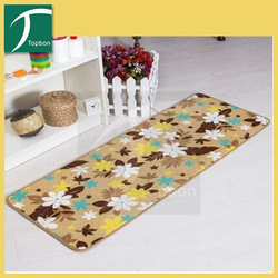 2014 Fashion importers massage printed rug