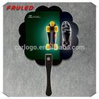 Promotional PP Fan Advertising Plastic fan (directly from factory)
