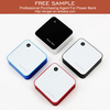 Compact size rechargeable 6600mah dual usb output mobile power pack for mobile devices