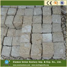 Natural split G682 yellow granite cheap granite paving