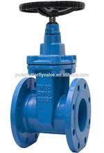 din flange dimensions non rising stem gate valve