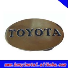 Custom toyota logo belt buckle