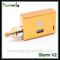2014 new products ecigator ecig deep juice well Storm V2 RDA pure vapor e smoking