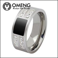 2014 New Design Men Silver Wedding Ring