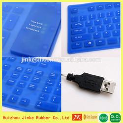 2014 JK-13-100 Customized Foldable Bluetooth Silicone Keyboard,medical keyboard
