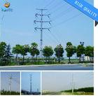 galvanized electric pole &telecommunications monopole