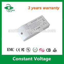 12v 24v 36v led power supply EMC LVD ROHS approved 400ma dimmable led lighting driver