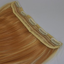 full thick end no tangle no shed one piece clip in human hair extensions