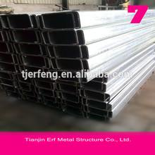 High quality C Profile Steel / Galvanized C channel steel