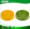 Pet product Custom Portable colorful plastic dog bowl