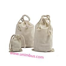 fashional custom durable wholesale drawstring cotton for gift