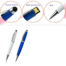 hot sale portable business gifts multifunction ballpen usb memory stick