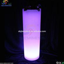led deco garden lighting plant vase