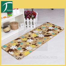 2014 Fashion apaghetti bathroom printed rug