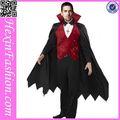 la fábrica de china 3 pcs sexy trajes vampiro de los hombres