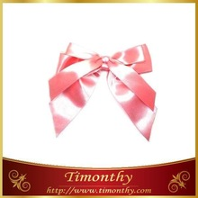 Handmade gift satin ribbon bow tie