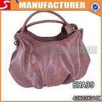 comfortable portable leather hand bag women bag