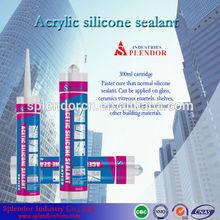 Splendor Acetic/actoxy Silicone Sealant manufacturer, splendor pure silicone sealant, high temperature black rtv silicone sealan