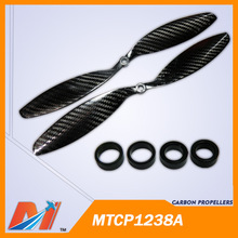 Maytech propeller multi copter 12 x 3.8 inch Carbon Fiber Prop for Radio Controlled Drones