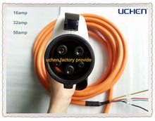 Factory provide Dostar 240v extension cord j1772 plug current 16amp /32amp/50amp