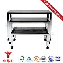 Eco friendly flat backboard double side supermarket racks cabinet supplier