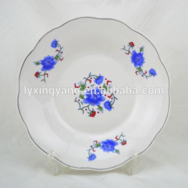 Cerâmica de porcelana personalize placas/catering placas e pratos/porcelana placas de restauração