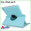 360 Degree Rotating Swivel PU Leather Stand Smart Cover Case For iPad 5th Gen